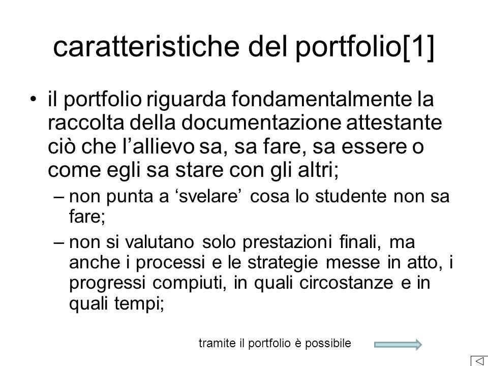 caratteristiche del portfolio[1]
